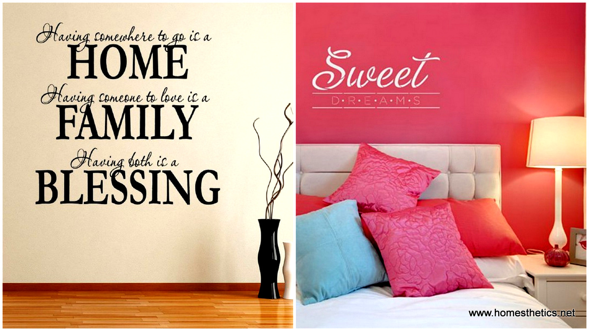 11 Diy Wall Quote Art That Will Beautify Your Home