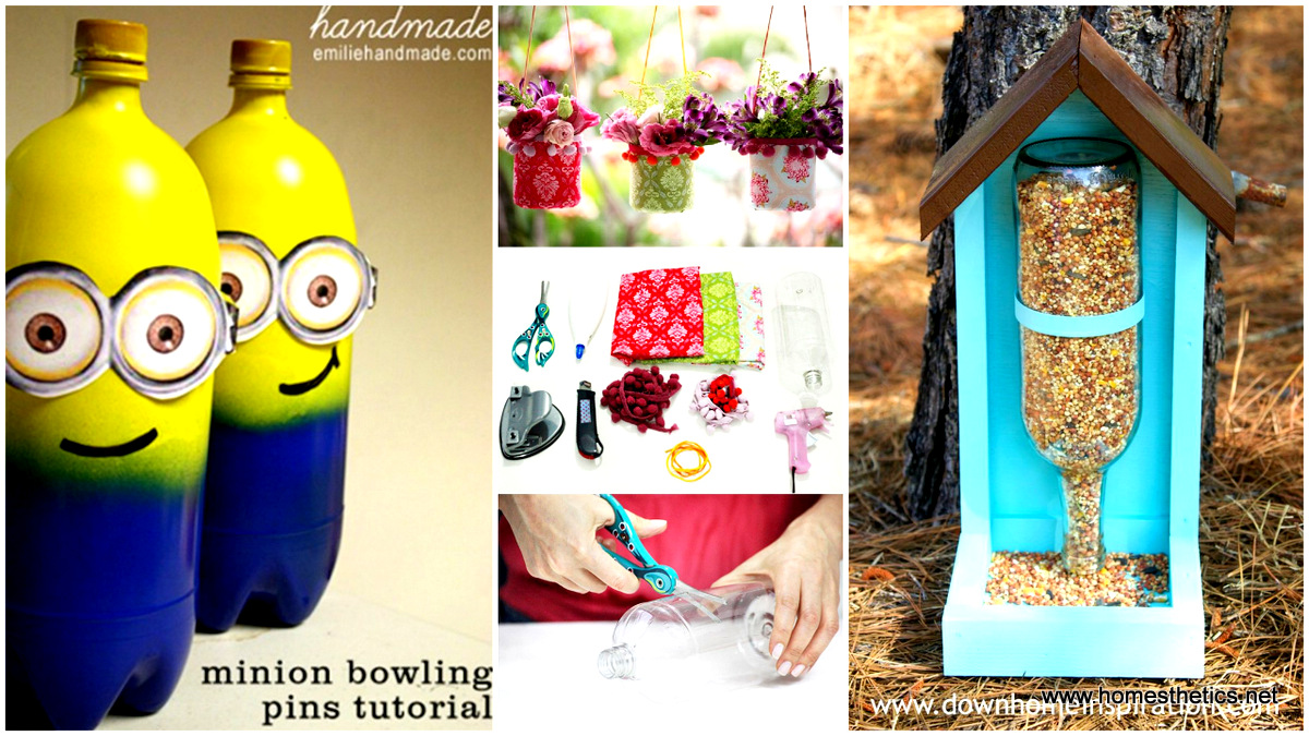 23 Extremely Creative Ways To Re Purpose Plastic Bottles Beautifully Tutorials Included