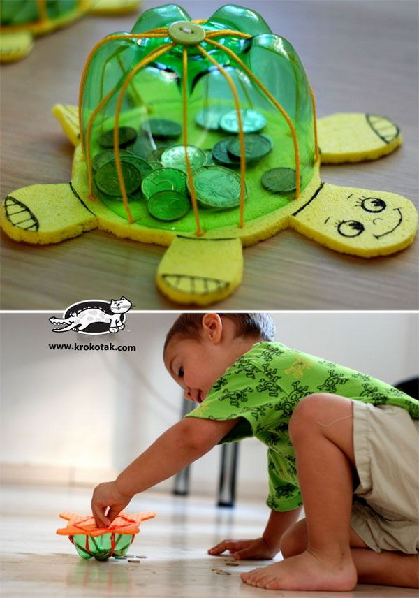 #2 PLAYFUL DIY TURTLE BANK