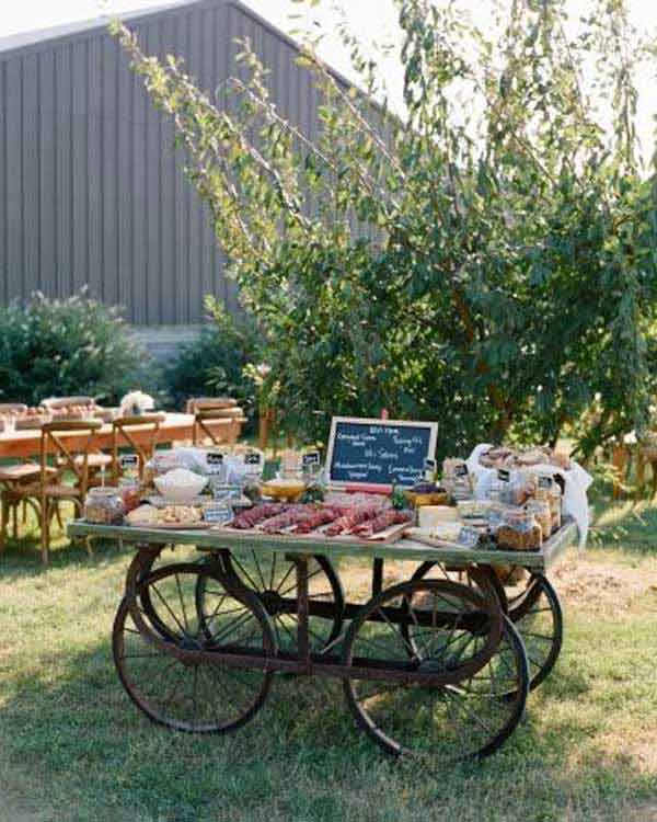 20 Simply Charming and Smart Unique Outdoor Wedding Bar Ideas Worth Trying homesthetics decor (22)