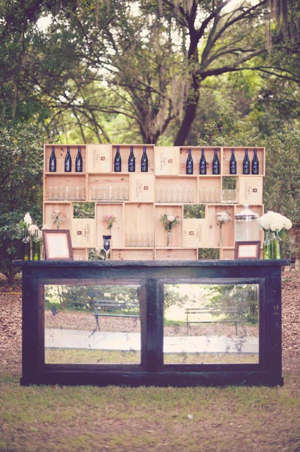 20 Simply Charming and Smart Unique Outdoor Wedding Bar Worth Trying homesthetics decor