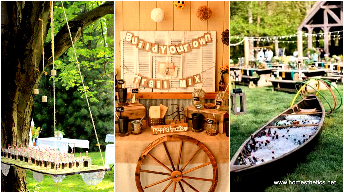 Attirant 27 Simply Charming And Smart Unique Outdoor Wedding Bar Ideas Worth Trying