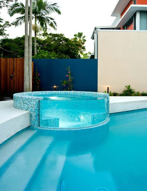 21 Glamorous and Spectacular Lounge Areas and Bedrooms Nestled Between Pools homesthetics decor surrounded by a pool (18)