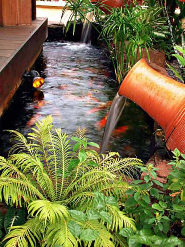 21 Small Garden Backyard Aquariums Ideas That Will Beautify Your Green World