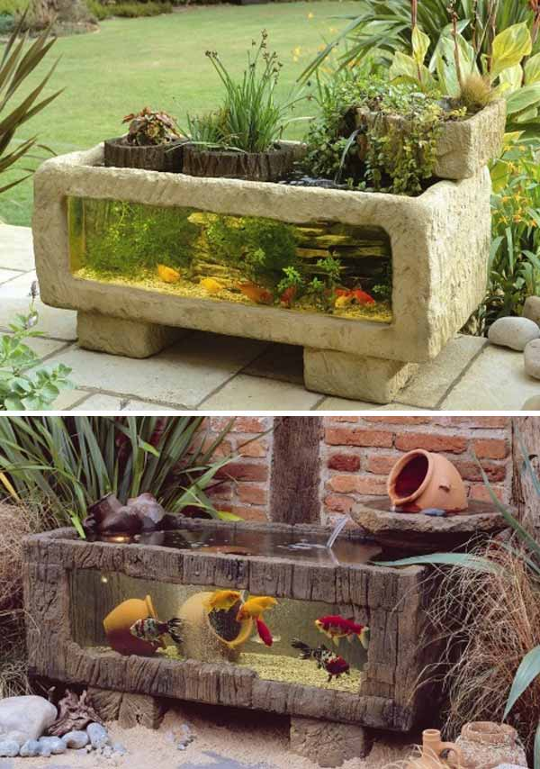 21+ Small Garden Ideas That Will Beautify Your Green World [Backyard  Aquariums Included]