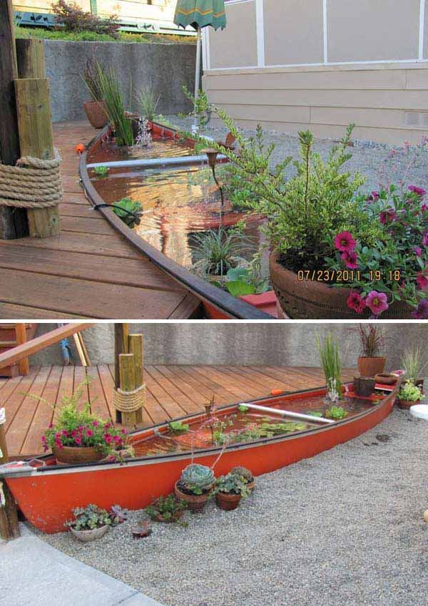 21 Small Garden Backyard Aquariums Ideas That Will