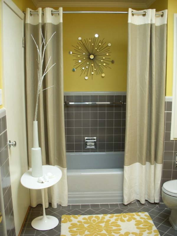 22 Extraordinary Creative Tips and Tricks That Will Enlarge Your Small Bathroom Design homesthetics decor ideas (1)