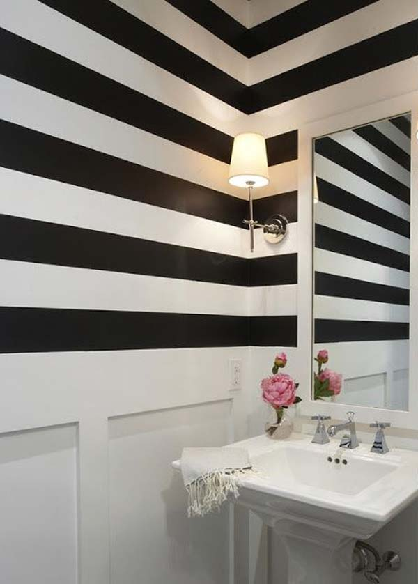 22 Extraordinary Creative Tips and Tricks That Will Enlarge Your Small Bathroom Design homesthetics decor ideas (12)