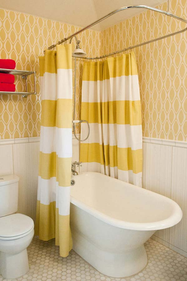 22 Extraordinary Creative Tips and Tricks That Will Enlarge Your Small Bathroom Design homesthetics decor ideas (13)