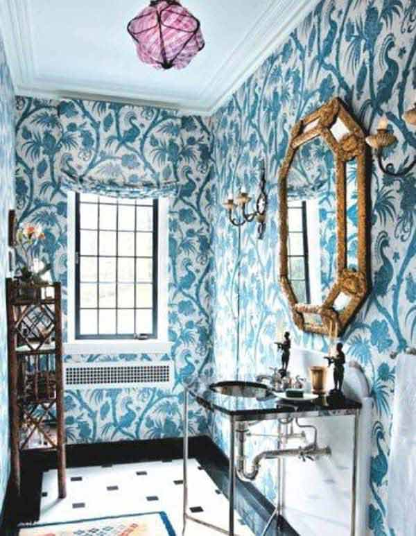 22 Extraordinary Creative Tips and Tricks That Will Enlarge Your Small Bathroom Design homesthetics decor ideas (15)