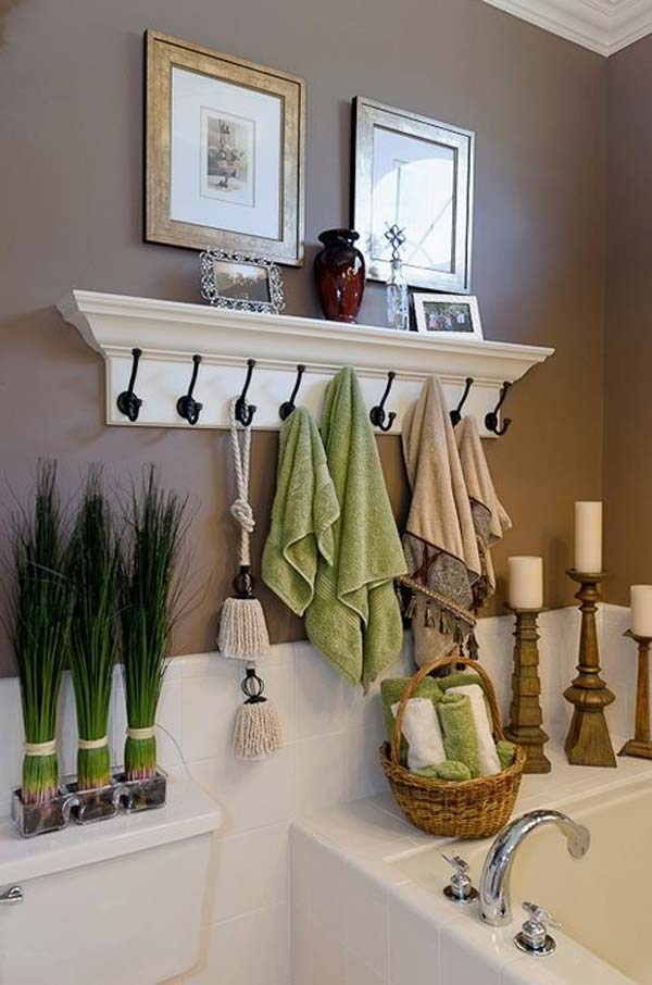 22 Extraordinary Creative Tips and Tricks That Will Enlarge Your Small Bathroom Design homesthetics decor ideas (17)