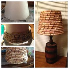 17.WINE CORK SIDE LAMP