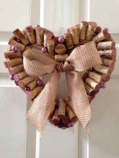 3. WINE CORK WREATH