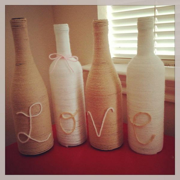 34 Fascinating Upcycling DIY Wine Bottle Projects To