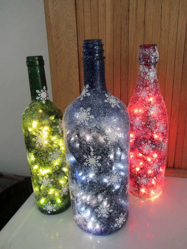 Decorative Wine Bottles Diy Magnificent 34 Fascinating Upcycling Diy Wine Bottle Projects To Refresh Your Inspiration