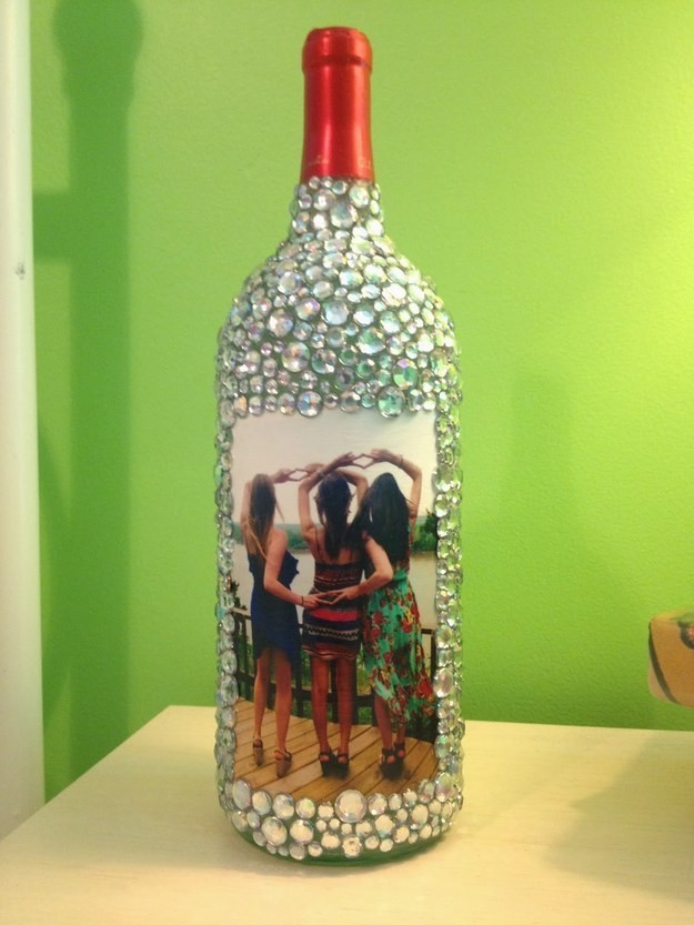 40 DIY Ideas On How To Transform Empty Wine Bottles Into Useful Items Gorgeous Empty Wine Bottle Christmas Decorations