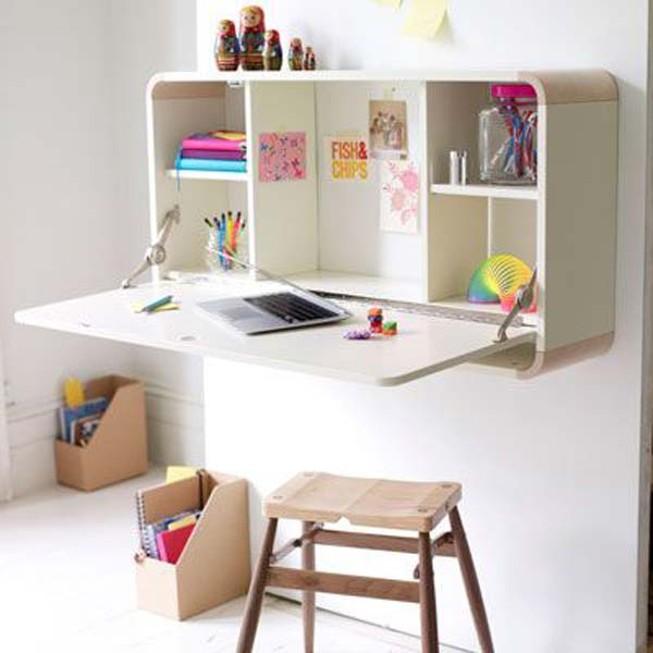 24 Beautifully Personalized Homework Stations For Kids Infusing Creativity