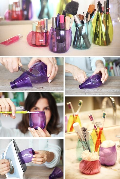 24 Extremely Creative Ways to Re-purpose Plastic Bottles Beautifully [Tutorials Included] homesthetics decor (24)