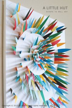 24 Simply Brilliant DIY Paper Wall Art Projects That Will Transform Your Decor homesthetics decor (8)