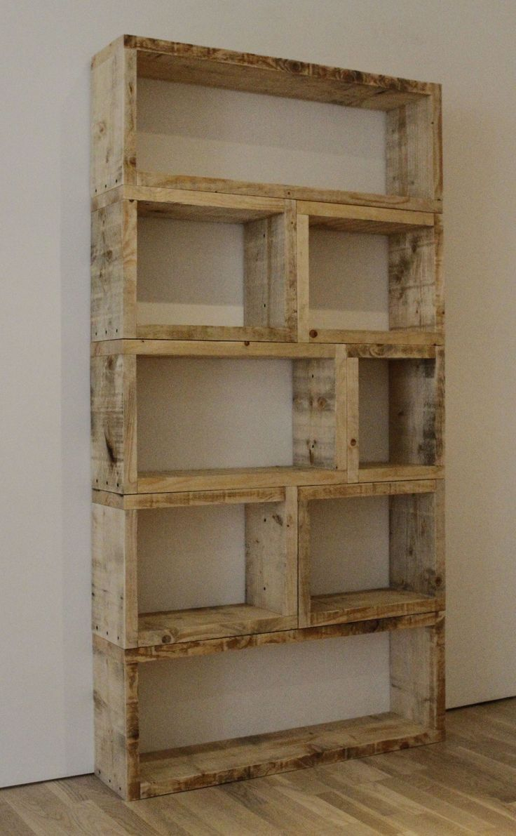 Rustic wood furniture ideas Barn Wood Shelf Build Simple Hardwood Storage Unit With Rustic Appeal Homesthetics Extremely Useful And Creative Diy Furniture Projects That Will