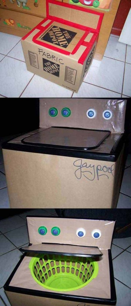 27 Ideas on How to Use Cardboard Boxes for Kids Games and Activities DIY Projects homesthetics diy cardboard projects (24)