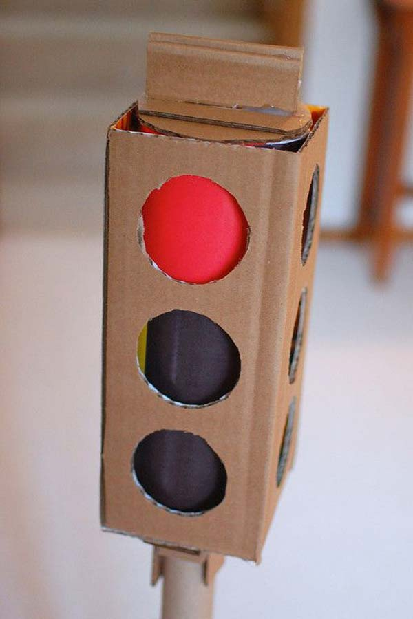 27 Ideas on How to Use Cardboard Boxes for Kids Games and Activities DIY Projects homesthetics diy cardboard projects (25)