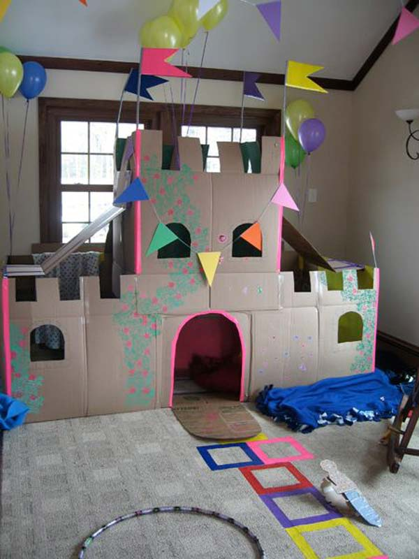 27 Ideas On How To Use Cardboard Boxes For Kids Games And Activities