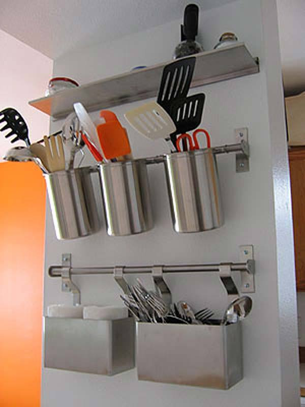 27 Ingenious DIY Cutlery Storage Solution Projects That Will Declutter Your Kitchen homesthetics storage ideas (10)