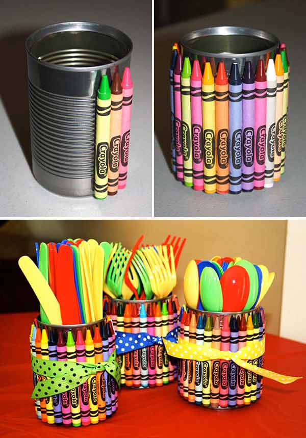 27 Ingenious DIY Cutlery Storage Solution Projects That Will Declutter Your Kitchen homesthetics storage ideas (22)