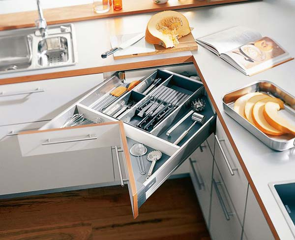 27 Ingenious DIY Cutlery Storage Solution Projects That Will Declutter Your Kitchen homesthetics storage ideas (24)