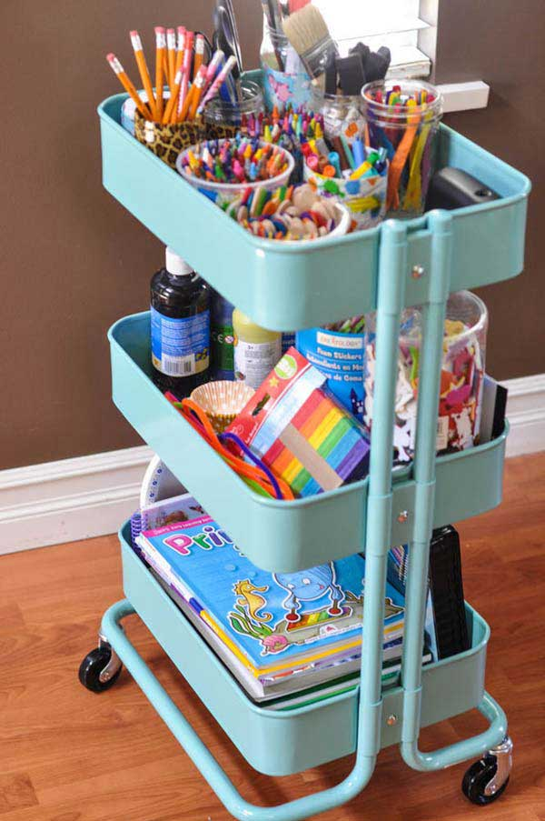 28 Smart Tips Tricks and Hacks to Organize Your Child's Room Beautifully homesthetics decor (14)