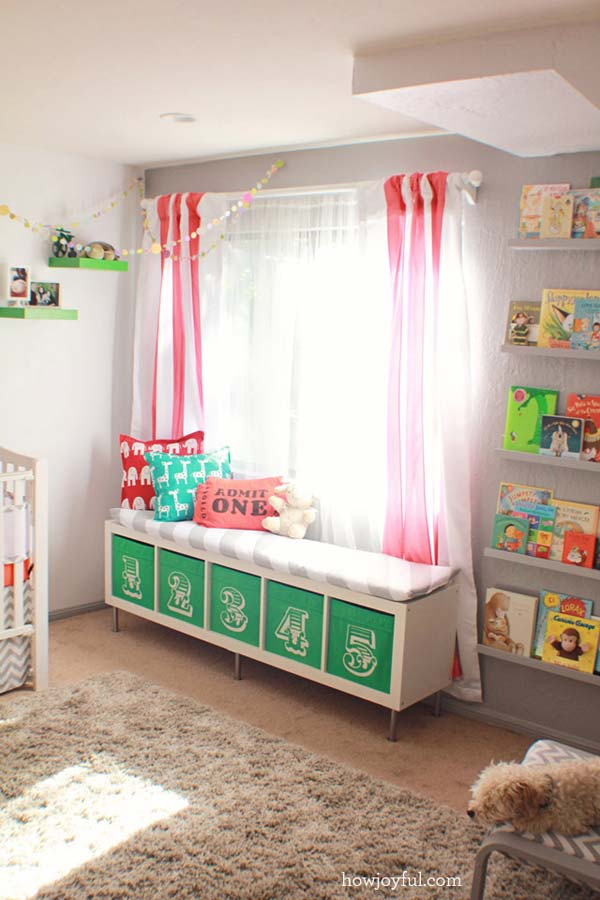 28 Smart Tips Tricks and Hacks to Organize Your Child's Room Beautifully homesthetics decor (18)