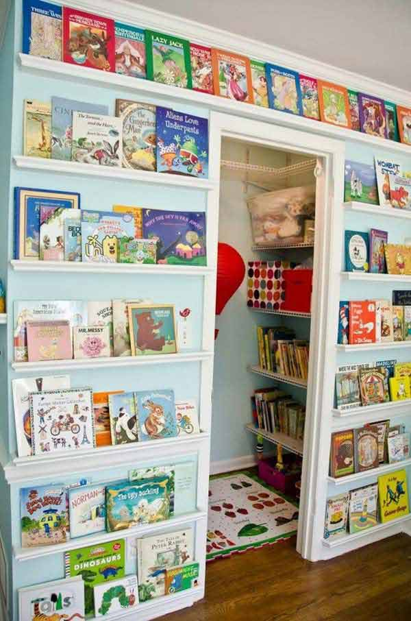 28 Smart Tips Tricks and Hacks to Organize Your Child's Room Beautifully homesthetics decor (19)