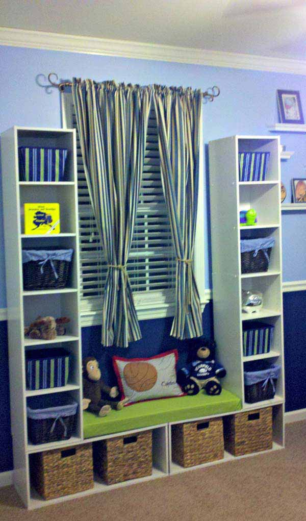 28 Smart Tips Tricks and Hacks to Organize Your Child's Room Beautifully homesthetics decor (3)