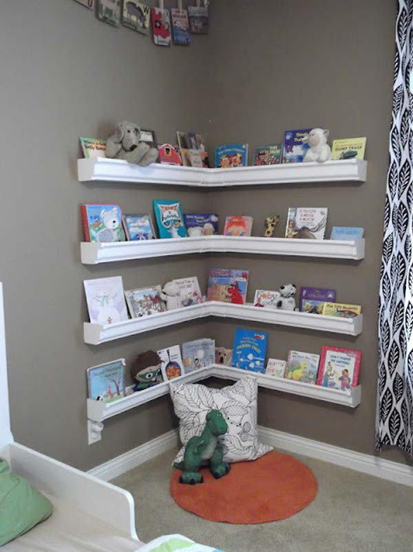 28 Smart Tips Tricks and Hacks to Organize Your Child's Room Beautifully homesthetics decor (5)