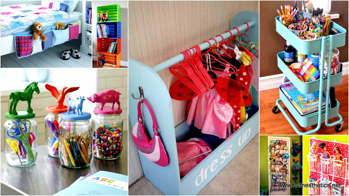 28 Smart Tips Tricks And Hacks To Organize Your Childu0027s Room Beautifully