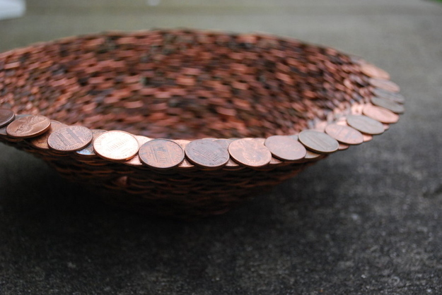 How to make a penny bowl