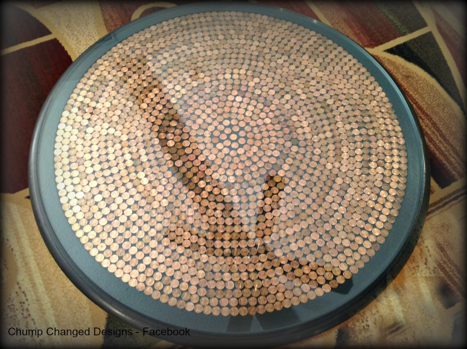 35 Extraordinary Beautiful DIY Penny Projects With a Shinny Copper Vibe homesthetics decor (33)