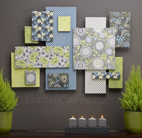 Beautiful Methods of Covering Your Blank Walls- DIY Art Projects-homesthetics.net (28)