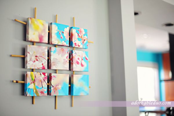 Beautiful Methods of Covering Your Blank Walls- DIY Art Projects-homesthetics.net (43)