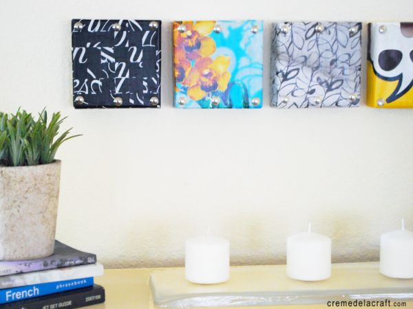 Beautiful Methods of Covering Your Blank Walls- DIY Art Projects-homesthetics.net (45)