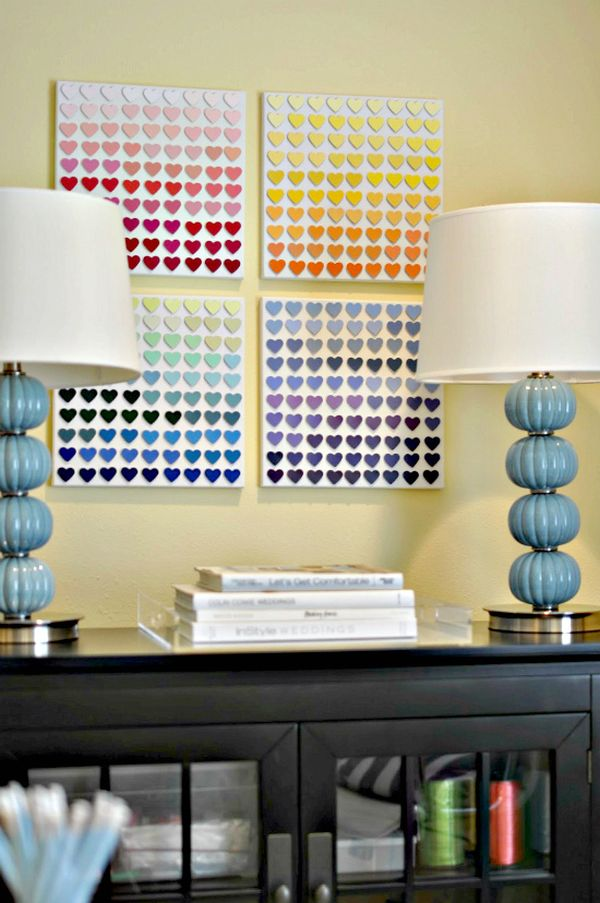 Beautiful Methods of Covering Your Blank Walls- DIY Art Projects-homesthetics.net (53)