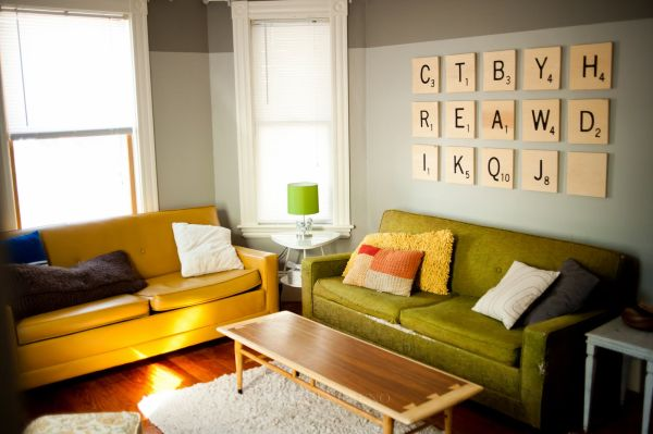 Beautiful Methods of Covering Your Blank Walls- DIY Art Projects-homesthetics.net (55)