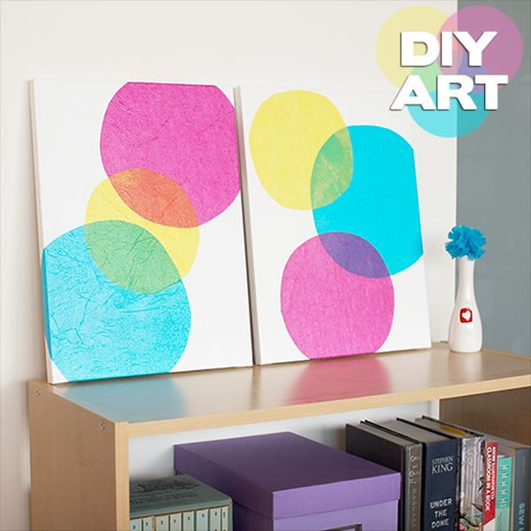 Beautiful Methods of Covering Your Blank Walls- DIY Art Projects-homesthetics.net (58)