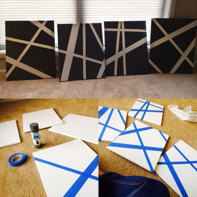 Beautiful Methods of Covering Your Blank Walls- DIY Art Projects-homesthetics.net (66)