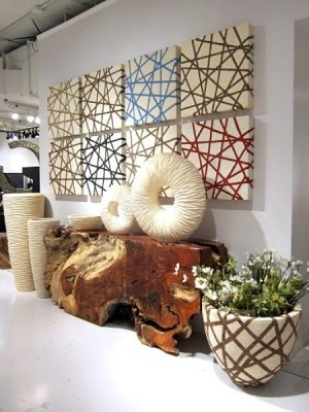 Beautiful Methods of Covering Your Blank Walls- DIY Wall Art Projects-homesthetics.net (1)