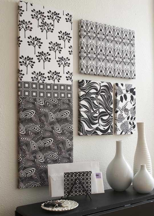 Beautiful Methods of Covering Your Blank Walls- DIY Wall Art Projects-homesthetics.net (2)