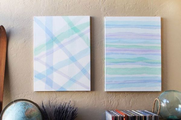 Beautiful Methods of Covering Your Blank Walls- DIY Wall Art Projects-homesthetics.net (21)