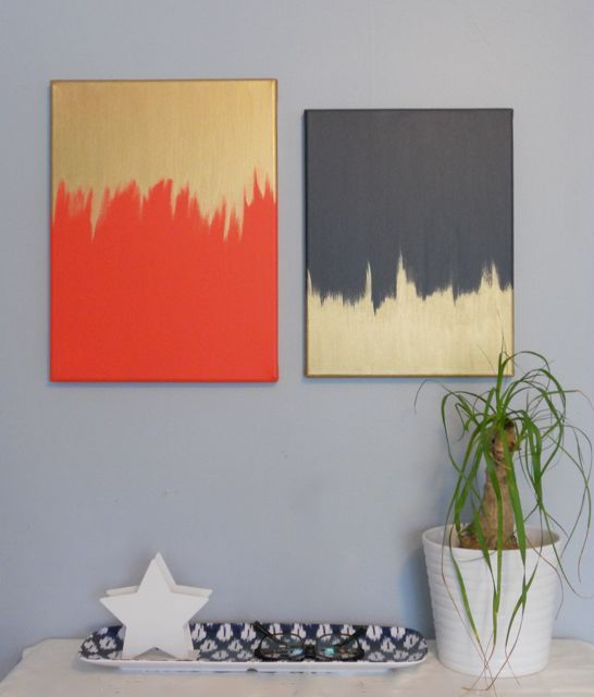 Beautiful Methods of Covering Your Blank Walls- DIY Wall Art Projects-homesthetics.net (3)