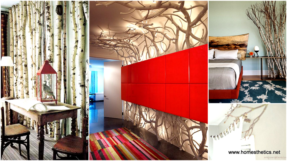 30 diy branches projects perfect for every interior design Homemade interior design ideas